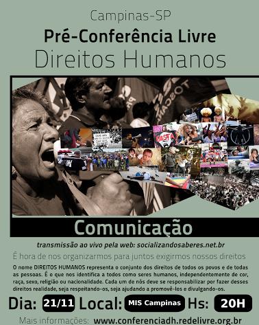 Pre-Conferencia de Comunicacao